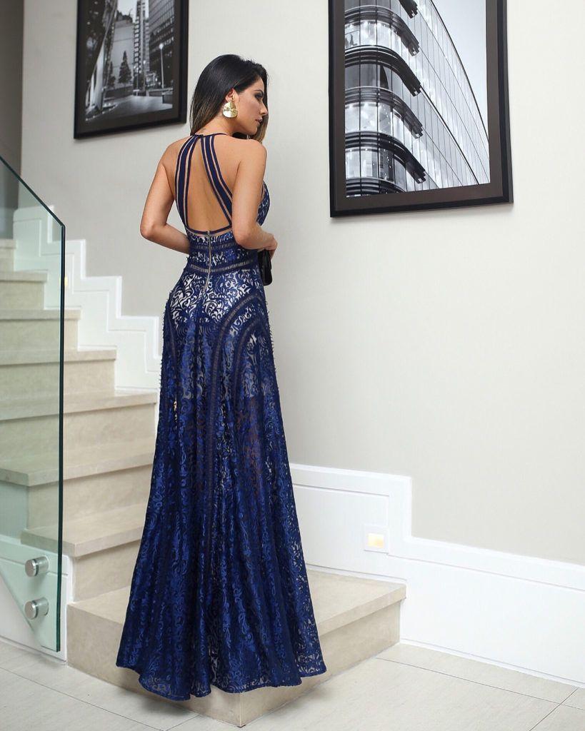 Vestido de formatura 2021 de Renda