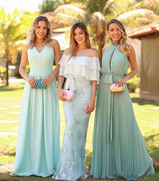 Vestidos De Madrinha De Casamento 2020 55 Fotos