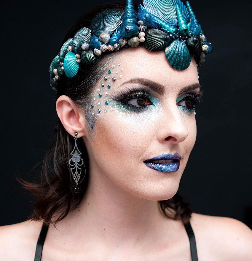 Maquiagem para Carnaval 2020 Sereia