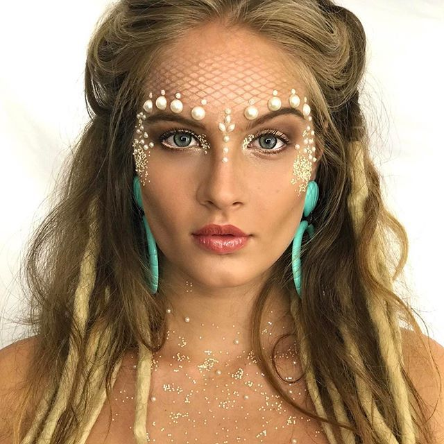 Maquiagem para Carnaval Sereia