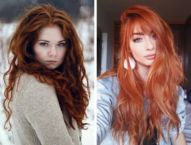 Cores de cabelo verão 2020 ruivo