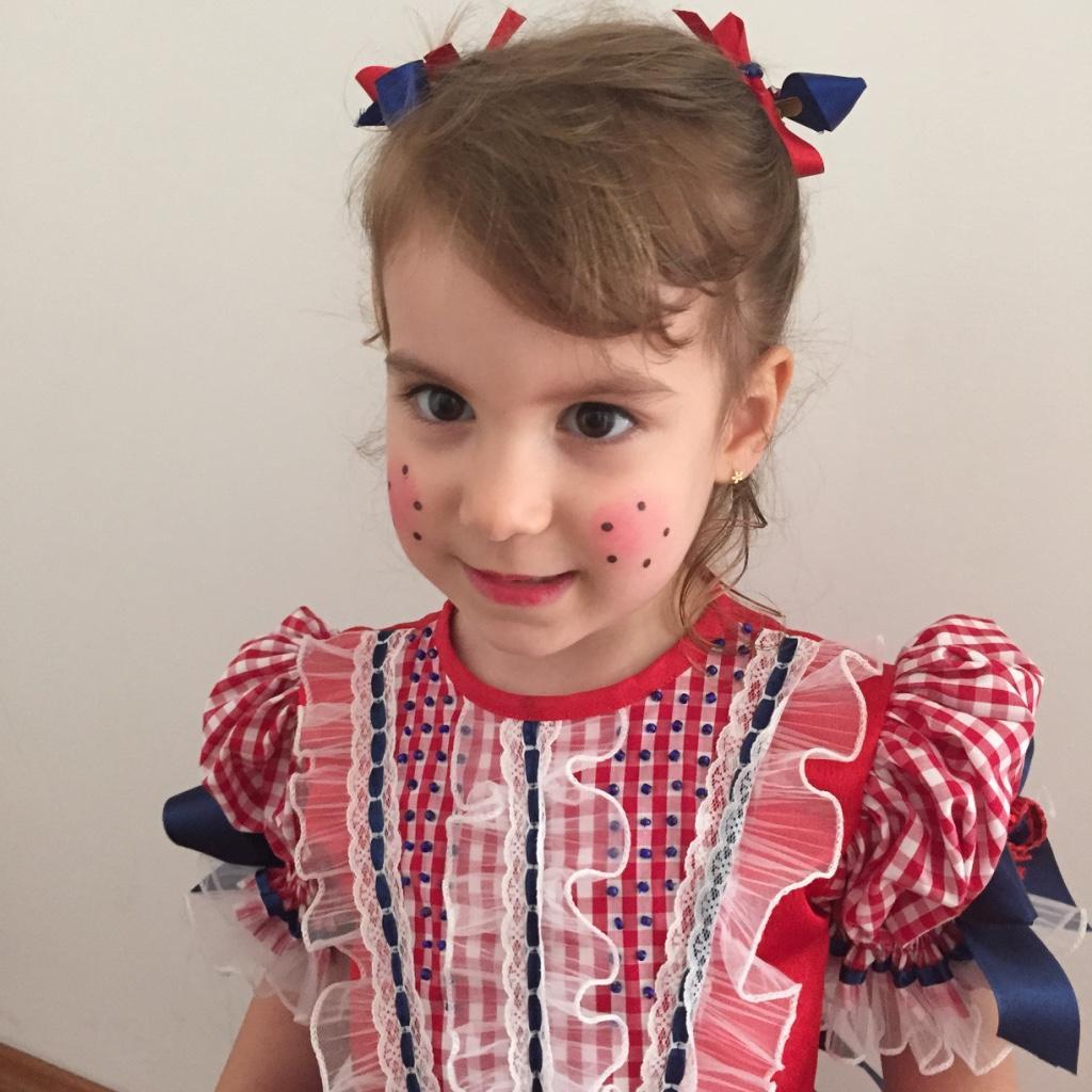 Maquiagem infantil para Festa Junina 2020