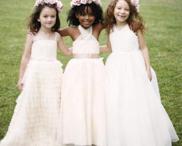 Vestidos dama de honra infantil 2020
