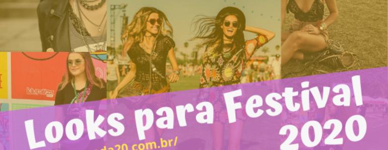 Looks para Festival 2020
